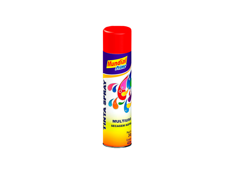 Tinta Spray Multiuso Mundial