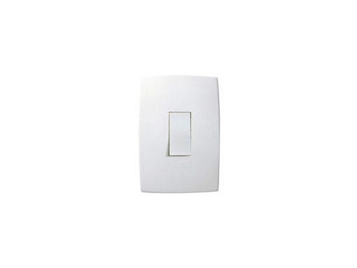 Interruptor Simples Vertical C/Placa Pialplus