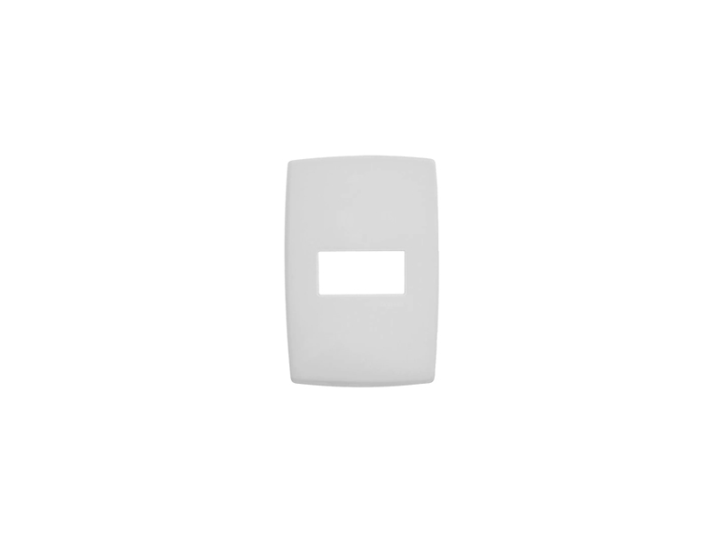 Placa 4X2 1S Horizontal S/Suporte Pialplus
