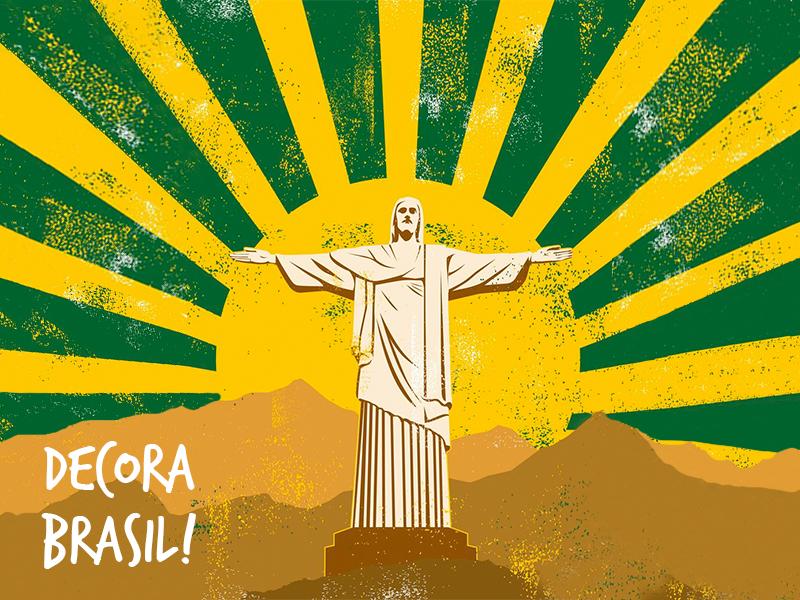 Decoração para Copa do Mundo 2018