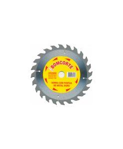 Disco Madeira Videa 7x1/4 184MM 24D R.2249
