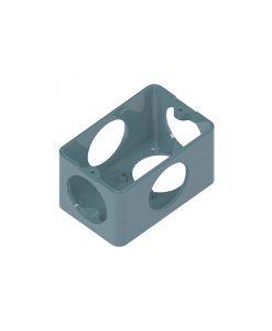 Condulete Top PVC Caixa 5 Entradas