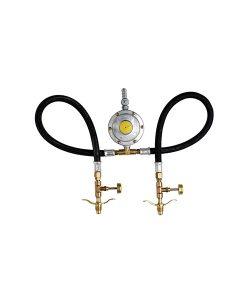 Registro P/Gás 2 Saídas 2P-13 C/Regulador Doméstico